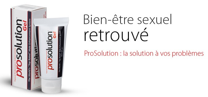 prosolution gel homme